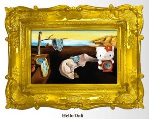 Hello Kitty Dali