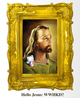 Hello Kitty Jesus