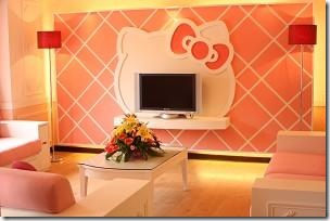 Hello Kitty house inside