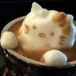 hello kitty latte