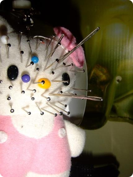 Hello Kitty pincushion