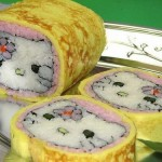 hello kitty sushi roll