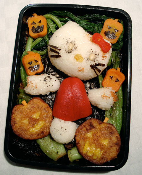 Hello Kitty zombie bento