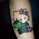 hello-kitty-halloween-tattoo