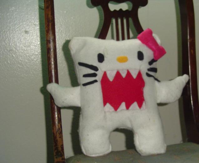 Domo Kun + Hello Kitty: Domokitty