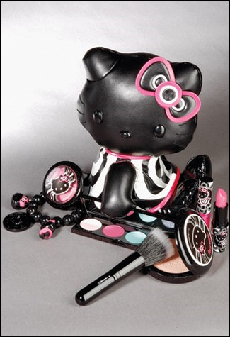 When that Hello Kitty cosmetic line runs over $1000