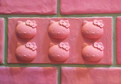 Hello Kitty bricks