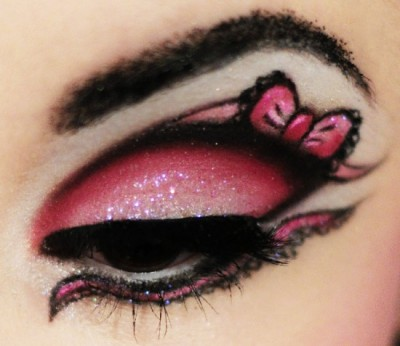hello kitty eye shadow