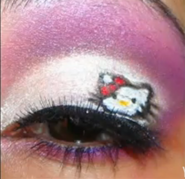 Not Hello Kitty fanatics. When a Hello Kitty fanatic buys Hello Kitty makeup