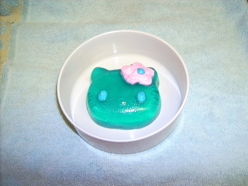 Hello Kitty jello