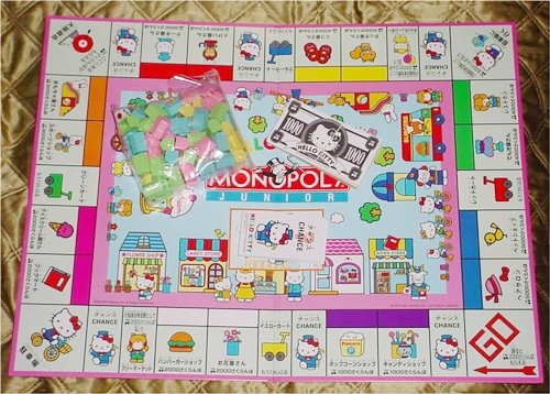 Hello Kitty monopoly