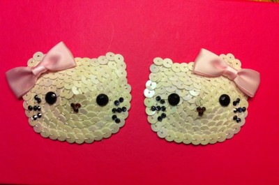 hello kitty pasties