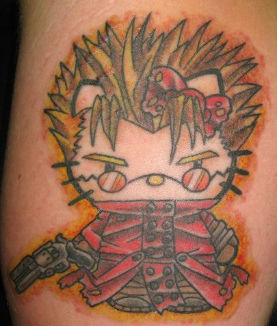 Hello Kitty Vash Tattoo
