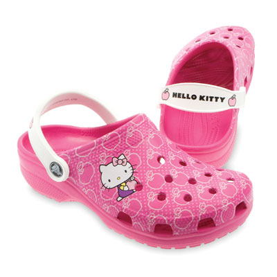 Hello Kitty crocs pink