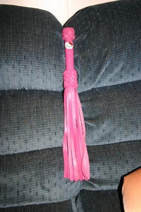 Hello Kitty S&M flogger