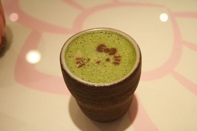 Hello Kitty green tea