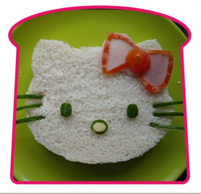 Hello Kitty sandwich