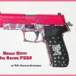 hello kitty sig sauer p226 gun