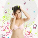 hello kitty bra and panties
