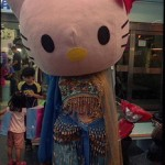 hello kitty belly dancer
