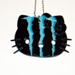 hello kitty blue monster