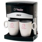 hello kitty coffee maker 2 cups