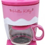 hello kitty coffee maker pink