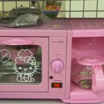 hello kitty coffee maker toaster oven