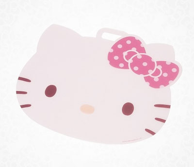 Hello Kitty plastic cutting board