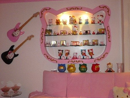 Hello Kitty Wall Display