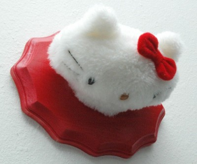 Hello Kitty head mount