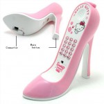hello kitty high-heel phone