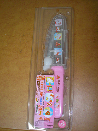 Hello Kitty knife