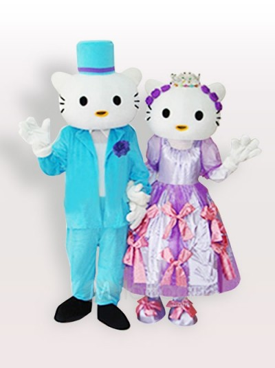 Hello Kitty Dear Daniel mascot costume