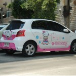 hello-kitty-minivan