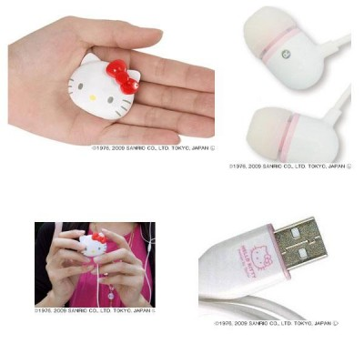 Hello Kitty mp3 player accessories