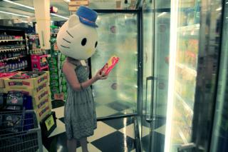 Hello Kitty shopping
