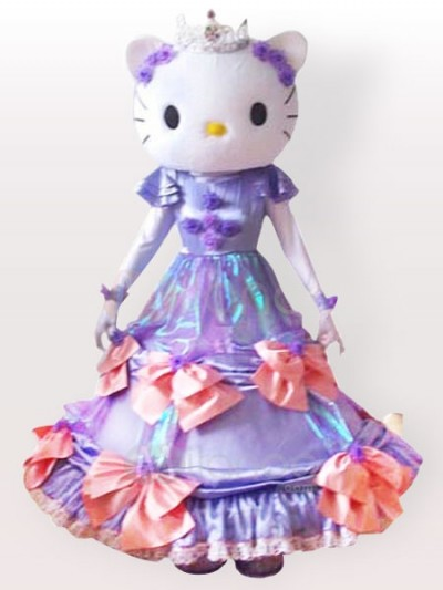 Hello Kitty wedding mascot