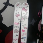 hello kitty angel skis