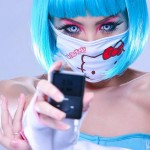 hello kitty facemask ipod