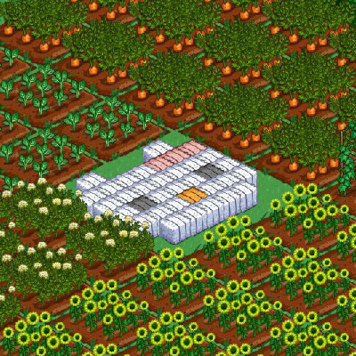 Hello Kitty Farmville