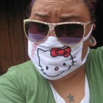hello kitty flu  swine mask