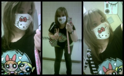 Hello Kitty health mask