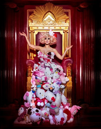 Hello Kitty Lady Gaga plush dress