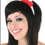 hello kitty plush headband