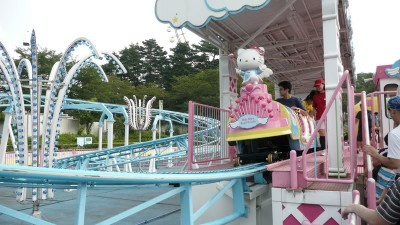 Hello Kitty roller coaster