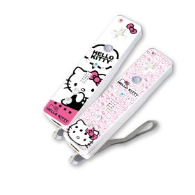 Hello Kitty Wii controllers