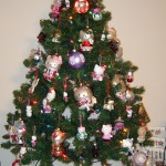 hello kitty Christmas tree home