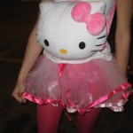 hello kitty backpack head costume