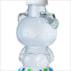 Hello Kitty bottled water kitty